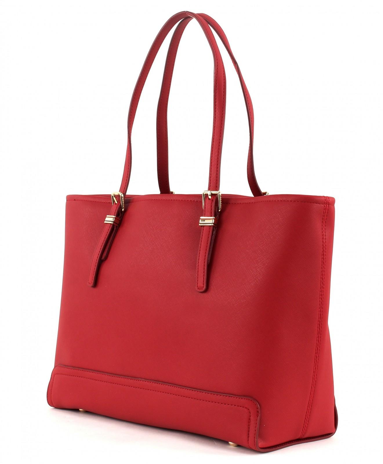 tommy hilfiger shoulder bag honey medium tote scooter red. Black Bedroom Furniture Sets. Home Design Ideas