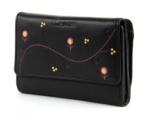 CHIEMSEE Spongy Small Zip Around Wallet Black
