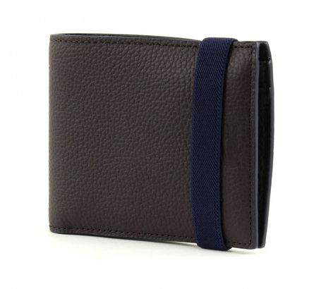 LACOSTE Rafael Large Billfold & Coin Chocolate Brown