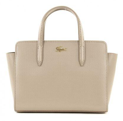LACOSTE Chantaco XS Shopping Bag Timber Wolf