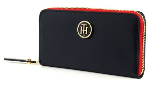 TOMMY HILFIGER Poppy Large Zip Around Wallet Midnight