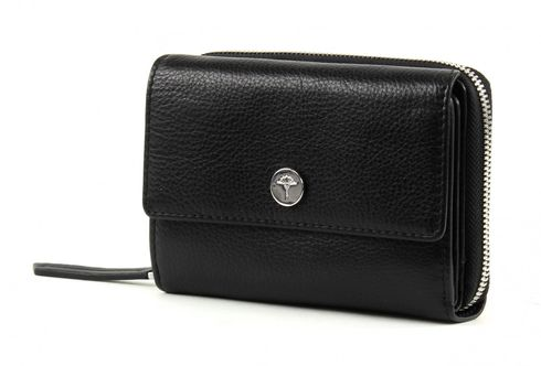 JOOP! Martha Soft Leather Purse H15FZ Black