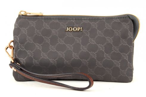 JOOP! Aleksa Nylon Cornflower Cosmetic Pouch Dark Grey