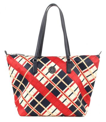 TOMMY HILFIGER Poppy Tote Check Corporate
