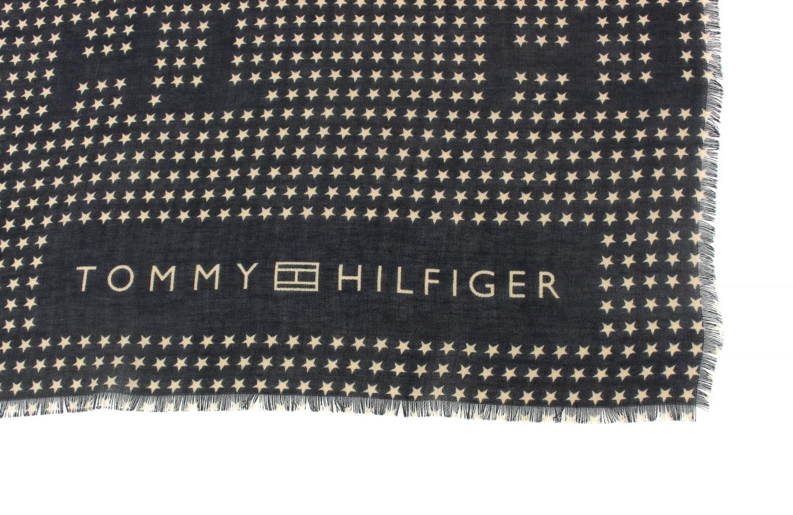 tommy hilfiger th stars scarf schal tuch halstuch damen. Black Bedroom Furniture Sets. Home Design Ideas