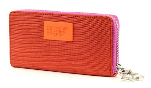 GEORGE GINA & LUCY Ball Istic Wallet Girlsroule Orange-Pink