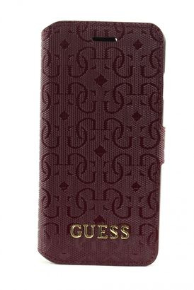 GUESS Marian Booktype For iPhone 6 Bordeaux