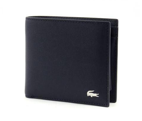 LACOSTE Small Billfold & Coin Peacoat