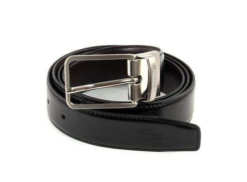 LACOSTE Reversible Belt W85 Black / Brown