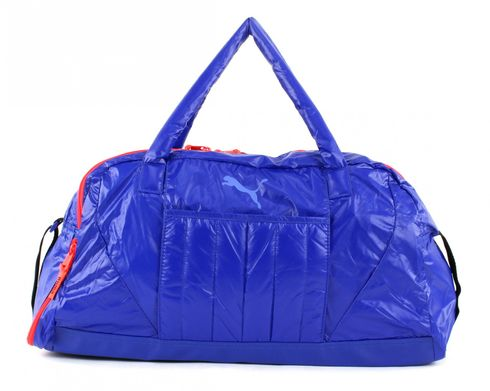PUMA Fit AT Sports Duffle Royal Blue-Red Blast-Puma