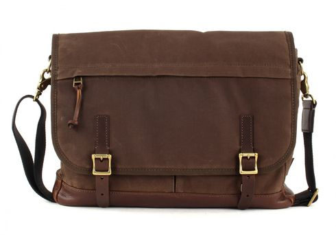 FOSSIL Defender Messenger Brown