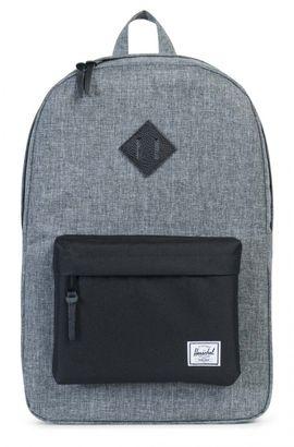 Herschel Heritage Backpack Raven Crosshatch / Black