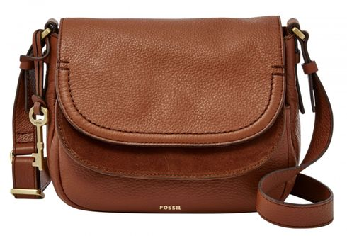 FOSSIL Peyton Double Flap Brown