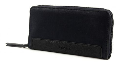 ESPRIT Ilka Cash Zip Clutch Navy