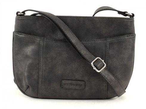 GERRY WEBER Open Mind Shoulder Bag S Dark Grey