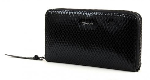 Tamaris MIKKA Big Zip Around Wallet Black
