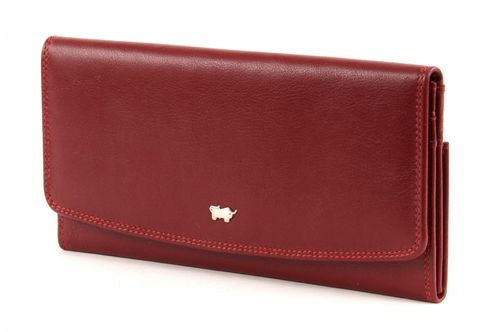 Braun Büffel Golf L Wallet Red