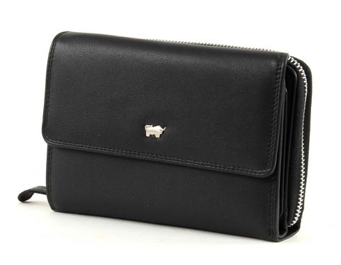 Braun Büffel Golf M Wallet Black