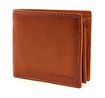 Marc O'Polo Saddle Vacchetta Combi Wallet M Cognac