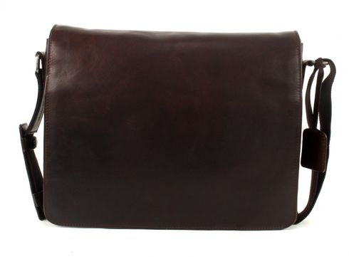 LEONHARD HEYDEN Roma Messenger Bag L Brown