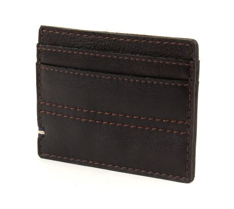Marc O'Polo Veg Oily Cow Card Holder Dark Brown
