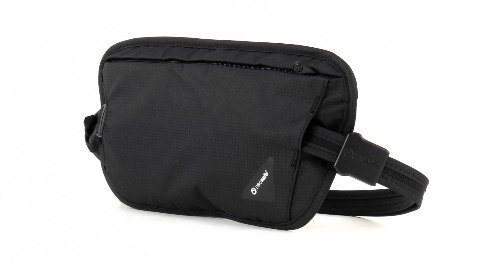 pacsafe Coversafe X100 Anti-Theft RFID Blocking Waist Wallet Black