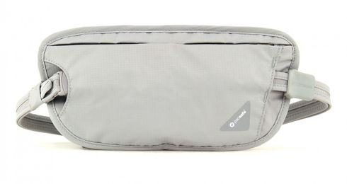 pacsafe Coversafe X100 Anti-Theft RFID Blocking Waist Wallet Neutral Grey
