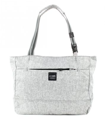 pacsafe Slingsafe LX250 Anti-Theft Tote Tweed Grey