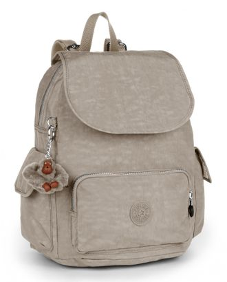 kipling Eyes Wide Open City Pack S Warm Grey