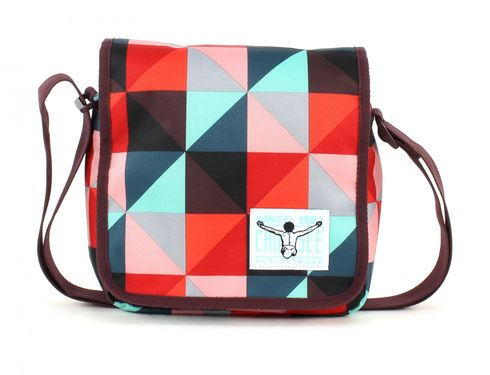 CHIEMSEE Easy Shoulderbag Plus Magic Triangle Red