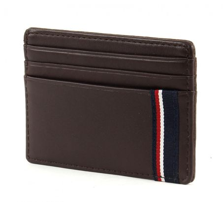 TOMMY HILFIGER Casual CC Holder Coffee Bean
