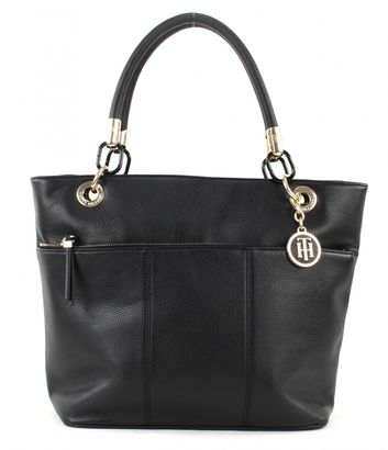 TOMMY HILFIGER TH Signature Tote Black
