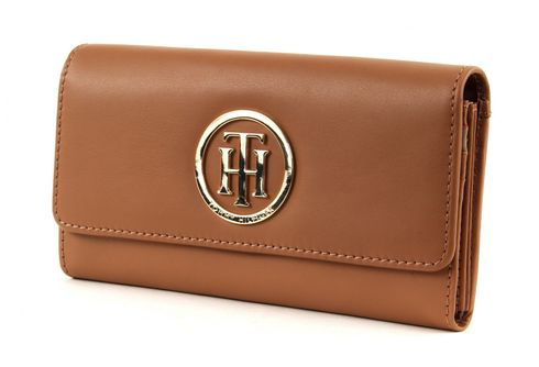 TOMMY HILFIGER Classic TH Large EW Wallet Almond