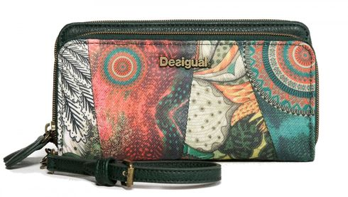 Desigual Mone Two Levels Alabama Verde Oscuro