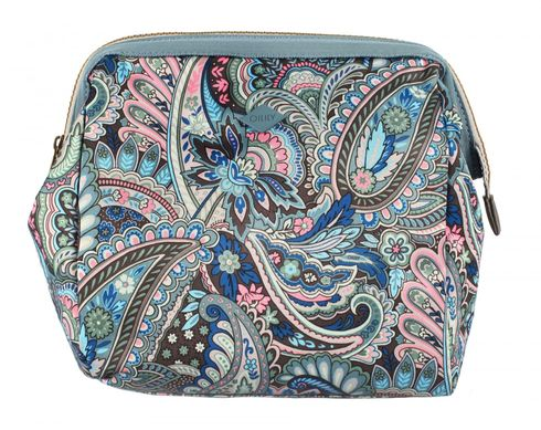 Oilily Eau de Fleurs L Frame Toiletry Bag Legend Blue