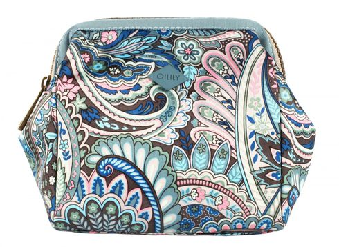 Oilily Eau de Fleurs S Frame Toiletry Bag Legend Blue
