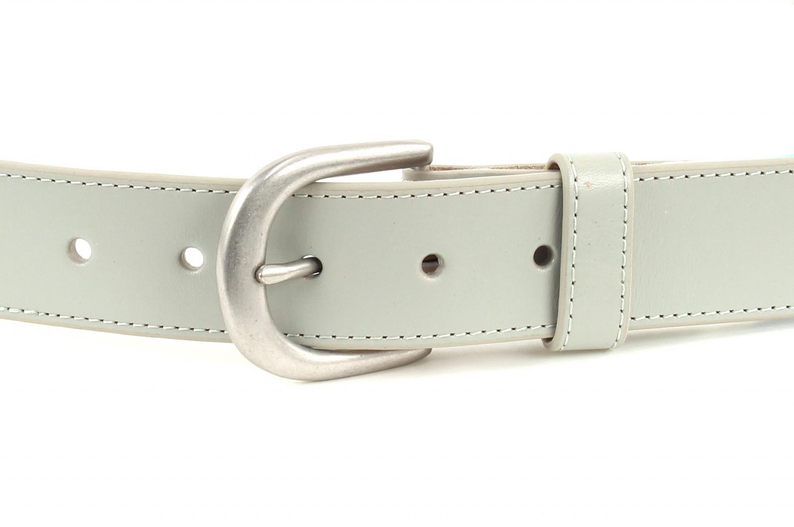 PUMA Regatta Fitted Ribbon Belt L W95 Gray