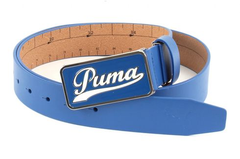 PUMA Script Fitted Belt CTL W115 Strong Blue