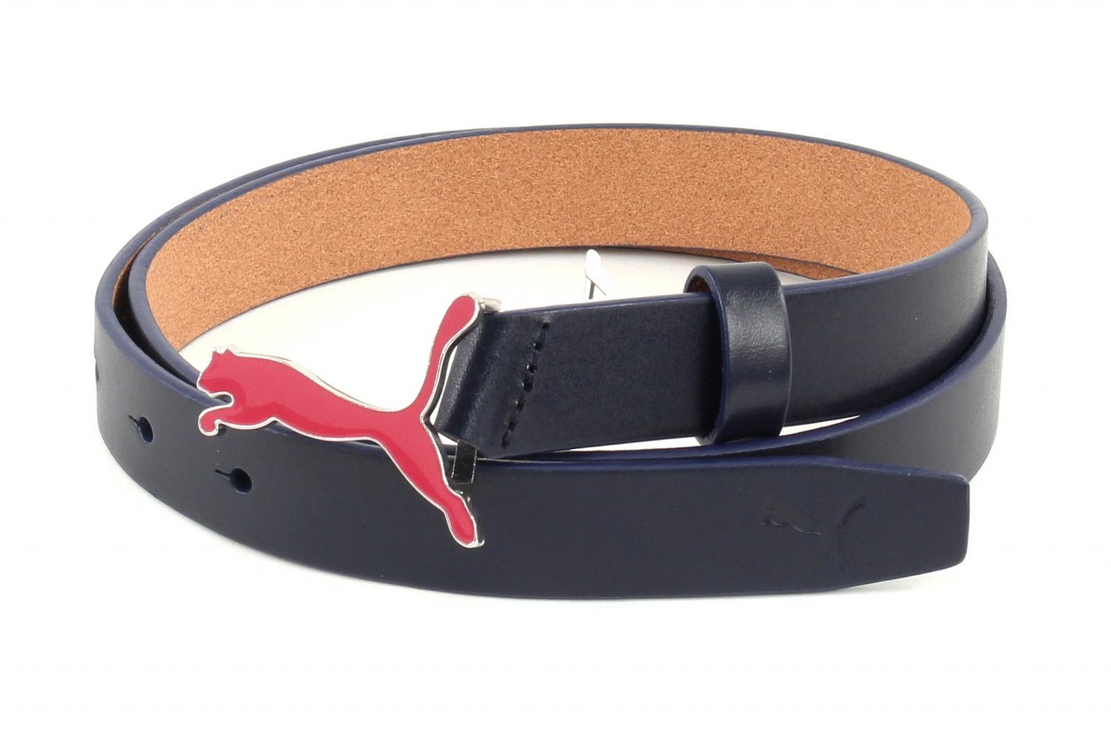 PUMA Skinny Pop Fitted Belt M W85 Navy