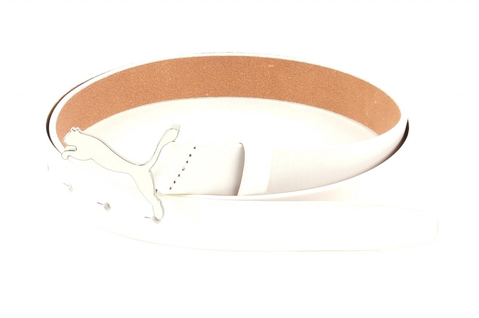 PUMA Skinny Pop Fitted Belt W105 White 3 - kürzbar