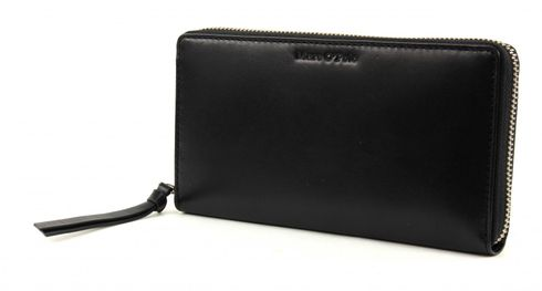 Marc O'Polo Cow Vegetable Zip Wallet L Black