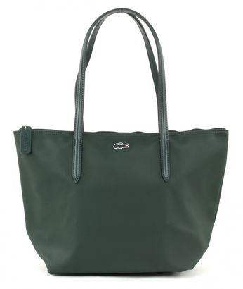 LACOSTE L.12.12 Concept Medium Small Shopping Bag Sinople