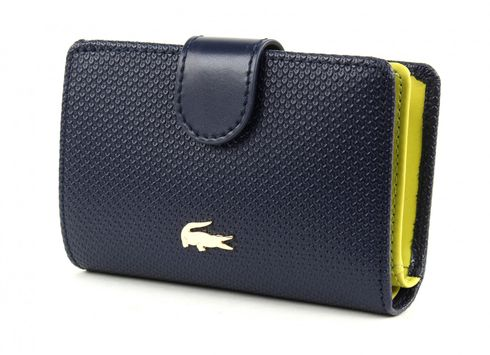 LACOSTE Chantaco Medium Wallet Peacoat