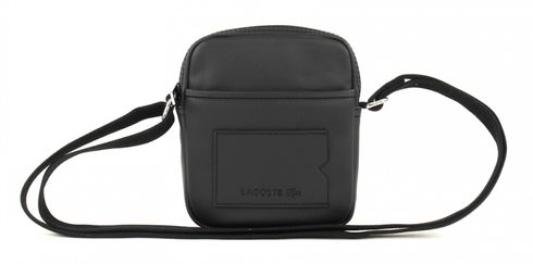 LACOSTE XS Vertical Camera Bag Black