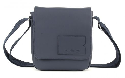LACOSTE Men's Classic Crossover Bag Black Iris