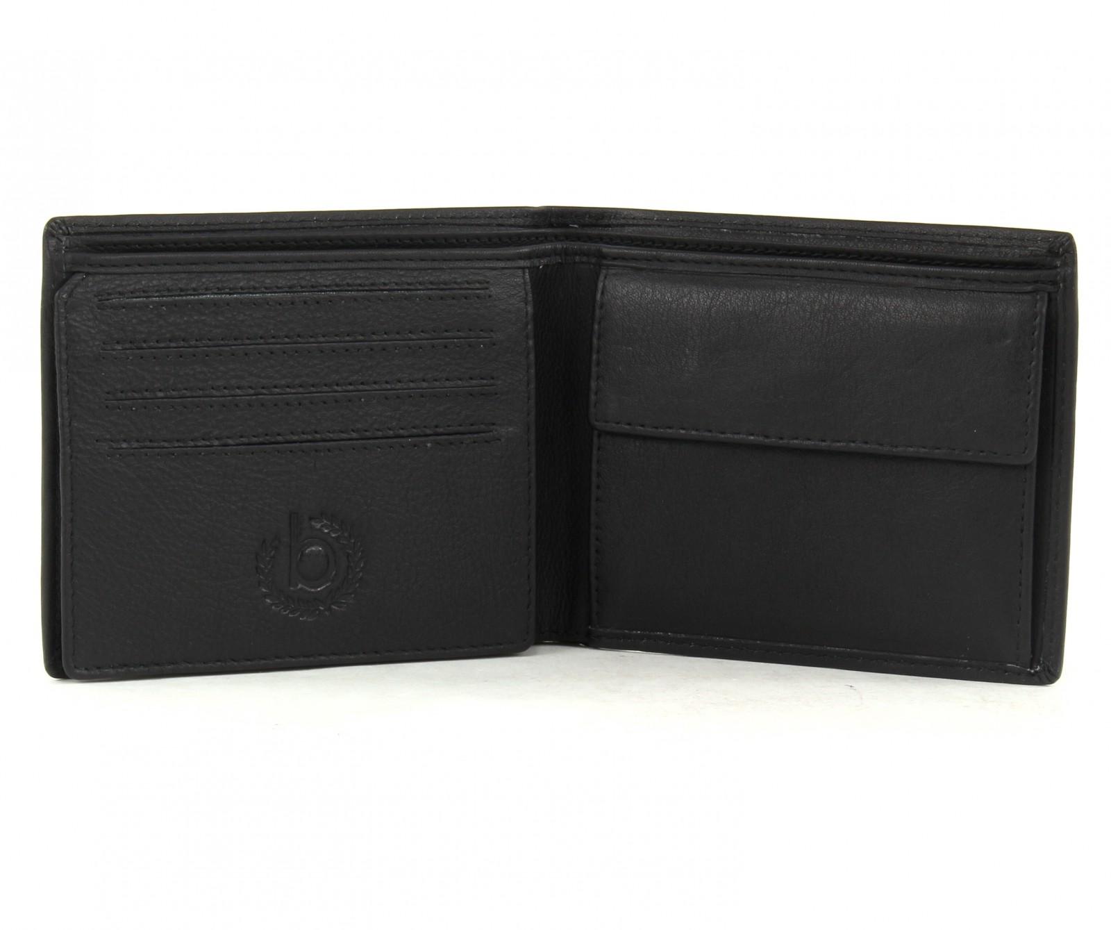 bugatti purse cosmos horizontal wallet black