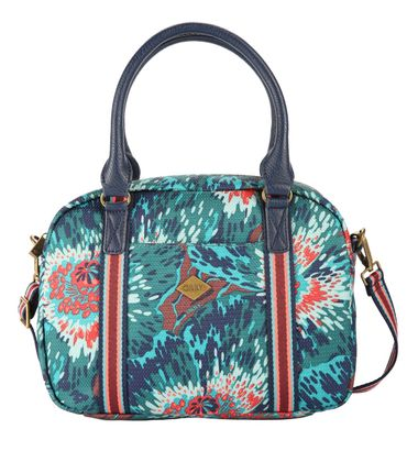 Oilily Winter Flowers S Handbag Teal