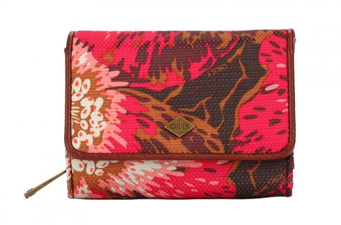 Oilily Winter Flowers S Wallet Wild Rose