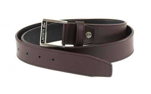 LACOSTE Welded Edges Belt W85 Brown