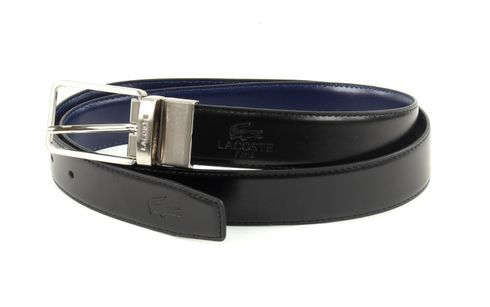 LACOSTE Reversible Belt W110 Black / Blue